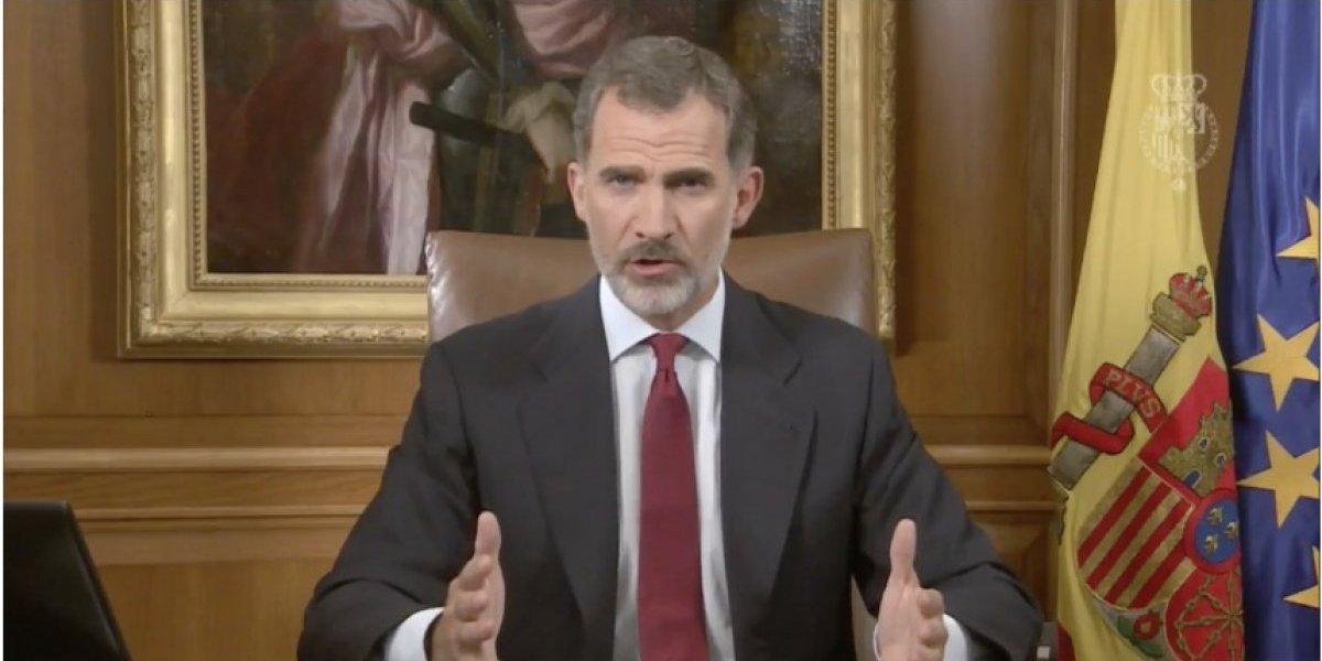 El Rey acusa a la Generalitat de 'deslealtad inadmisible' y garantiza la unidad de España