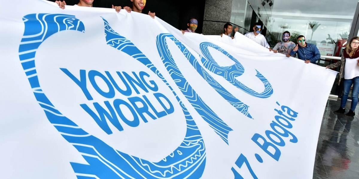 Diversidad, respeto e inclusión, retos que asumen jóvenes en cumbre en Bogotá