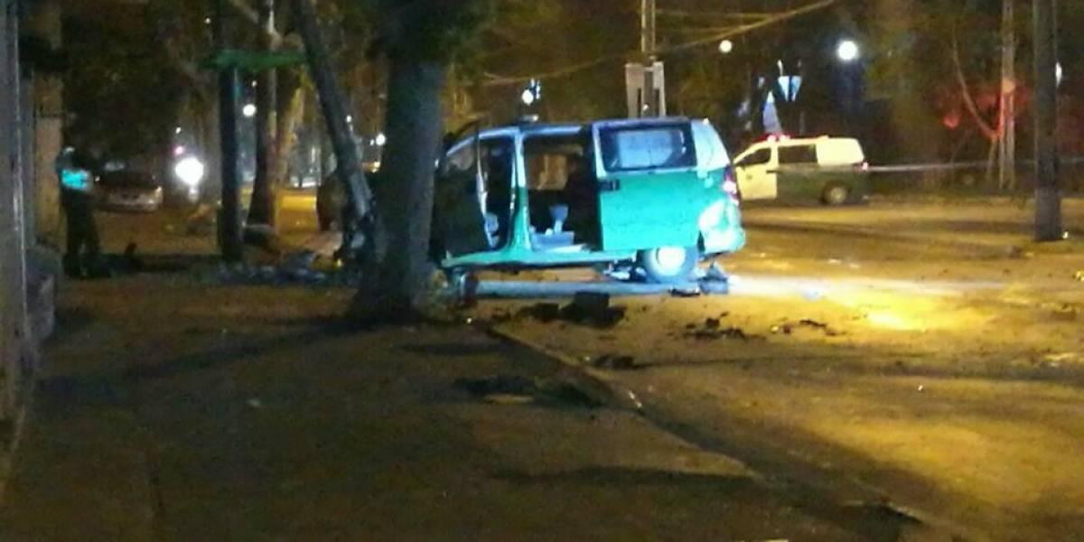 Delincuente y carabinero fallecieron durante una persecución policial