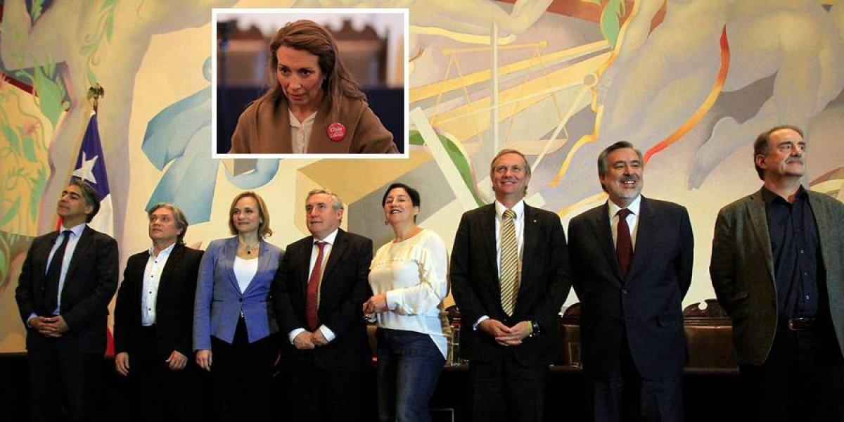 Debate presidencial del alto vuelo: sueldo de Karen Doggenweiler protagonizó polémica entre Guillier y ME-O