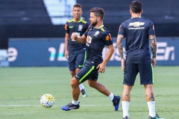 Diego no jugará ante Chile por problemas musculares / imagen: Ricardo Stuckert / CBF