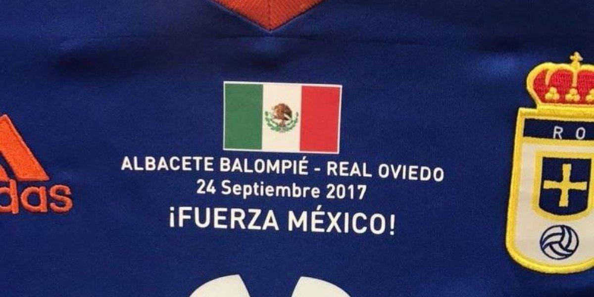 Real Oviedo reúne 8 mil euros para los afectados por el sismo en México