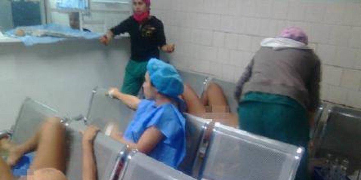 Partos en salas de espera, el nuevo escándalo de la crisis en Venezuela
