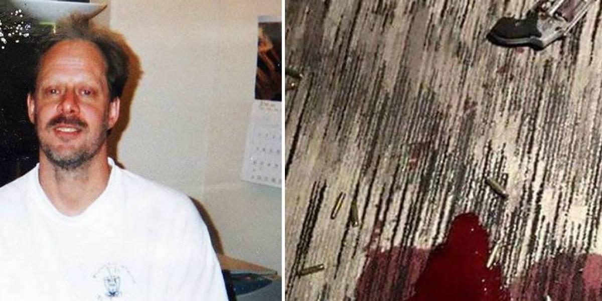 Sale a la luz foto del autor de matanza en Las Vegas muerto en su habitación de hotel
