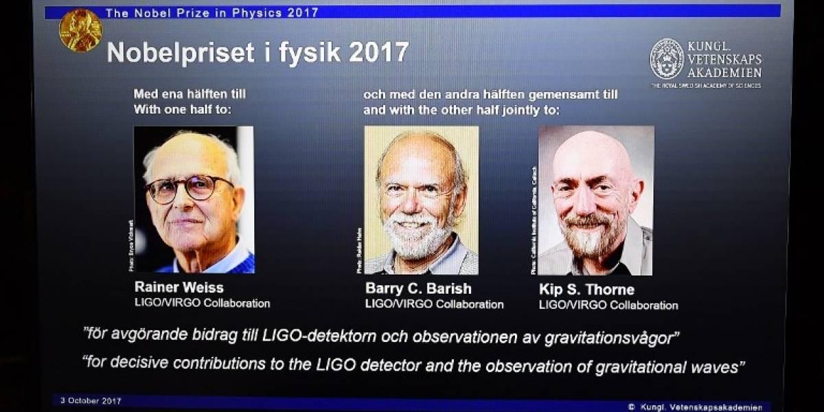 Barry Barish, Kip Thorne y Rainer Weiss ganan el Premio Nobel de Física