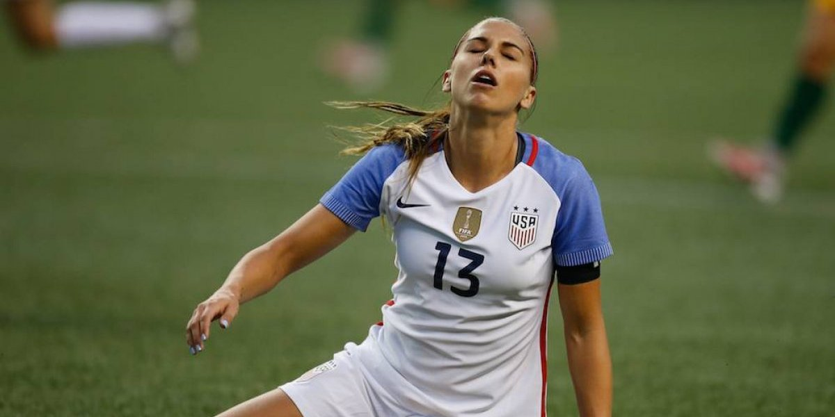 Expulsan a Alex Morgan de Disney World
