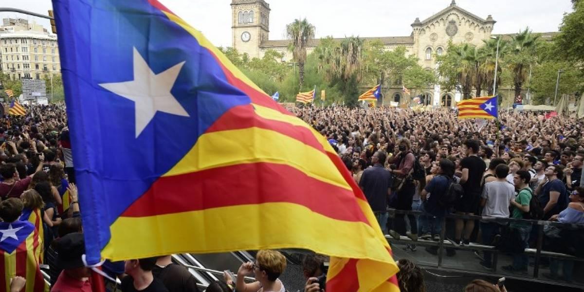 EN IMÁGENES. Manifestaciones masivas y huelga general en Cataluña