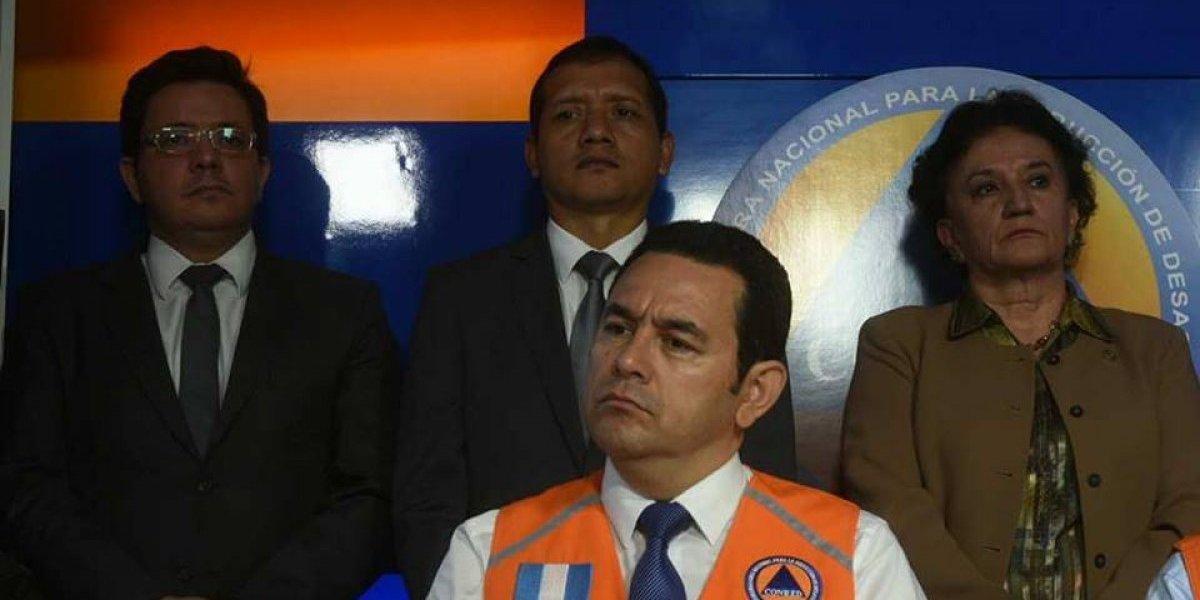 Jimmy Morales no recibirá más el bono de Q50 mil que le paga el Ejército
