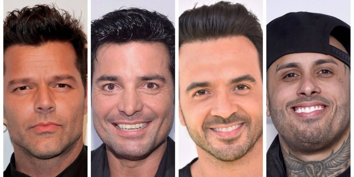 FOTO. Ricky Martin, Chayanne, Luis Fonsi y Nicky Jam llevan ayuda a Puerto Rico