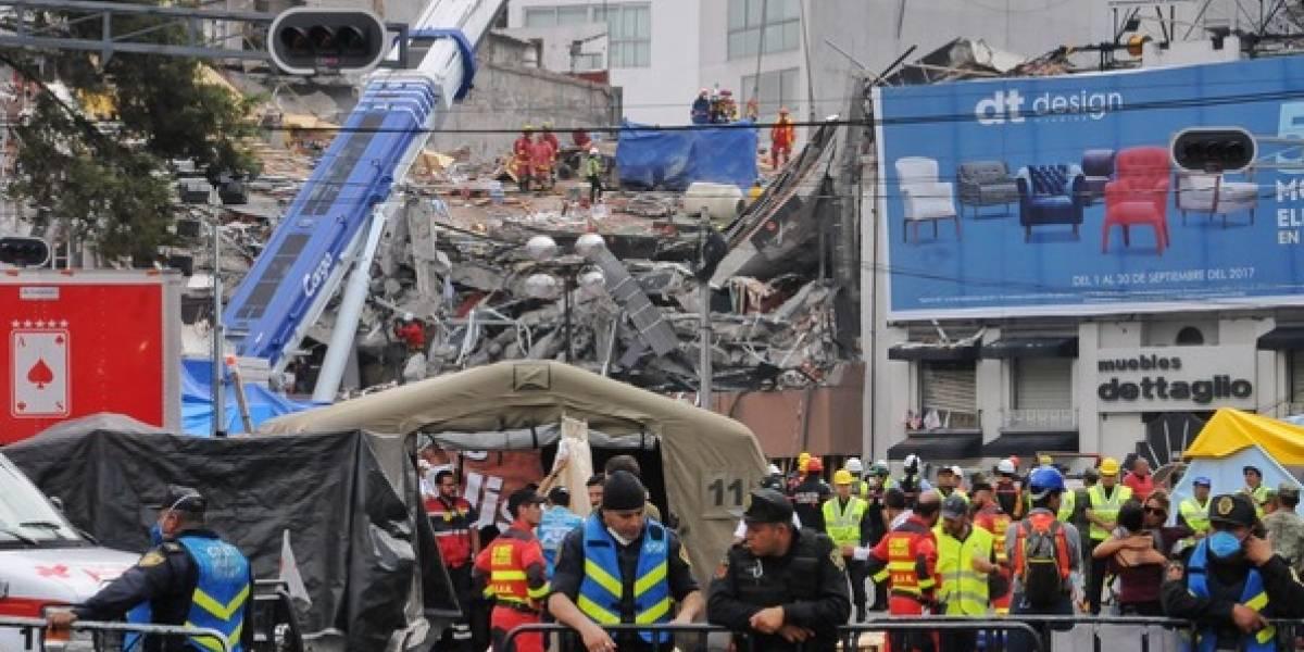 Recuperan cuatro cuerpos más en edificio colapsado en Álvaro Obregón
