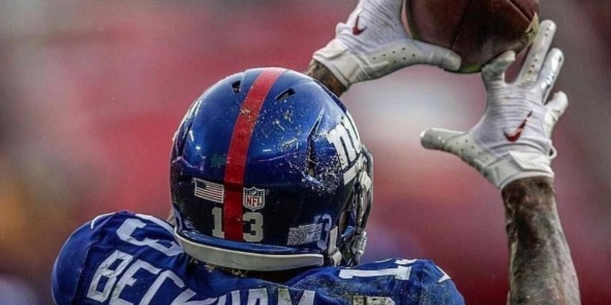 Odell Beckham Jr. muestra foto de la terrible lesión que sufrió en el dedo