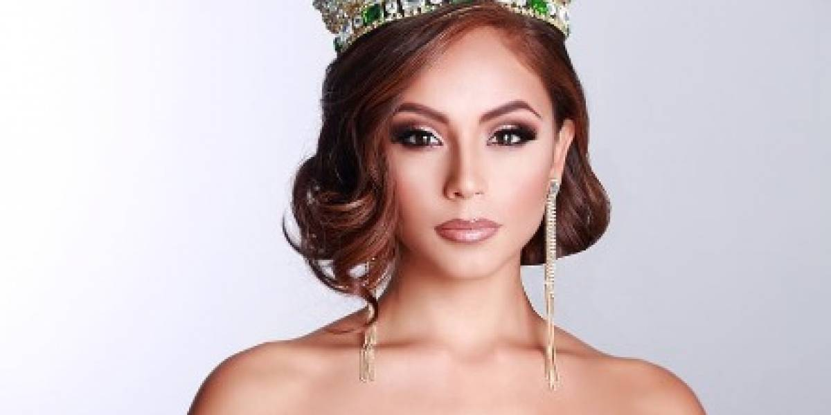 Así lució Brenda Azaria su típico en Miss Grand International 2017