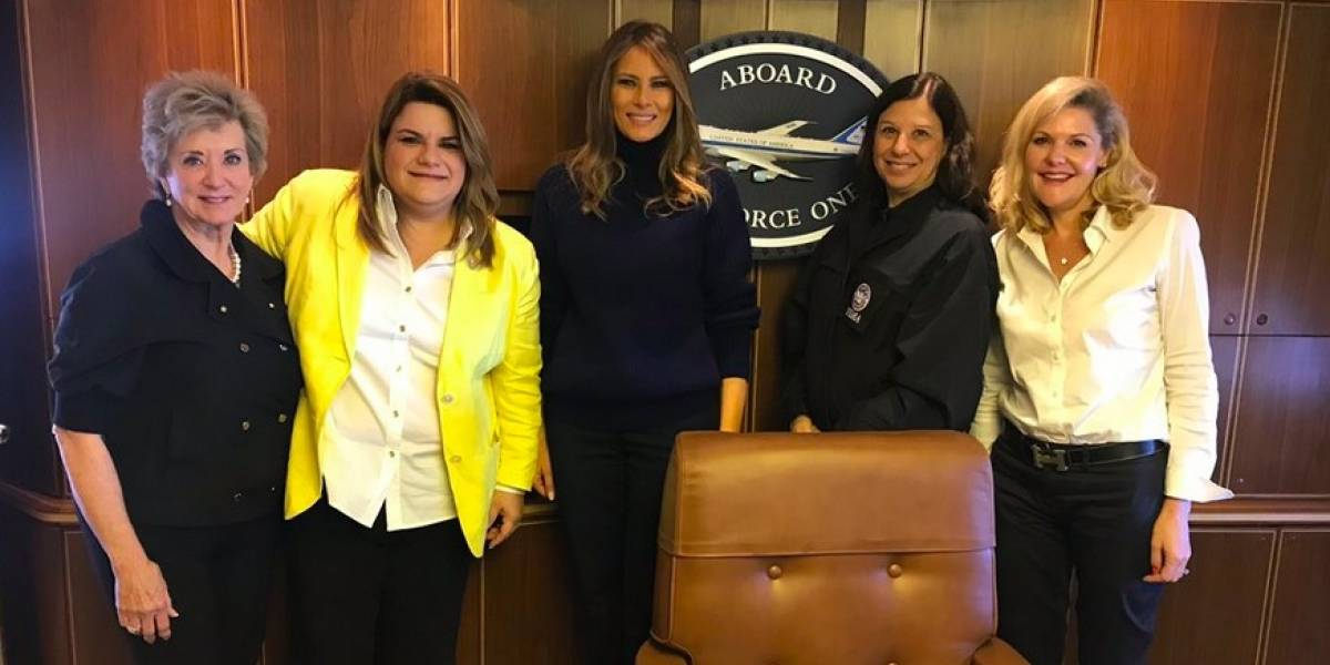Jennifer González detalla reunión en Situation Room en Air Force One con Trump