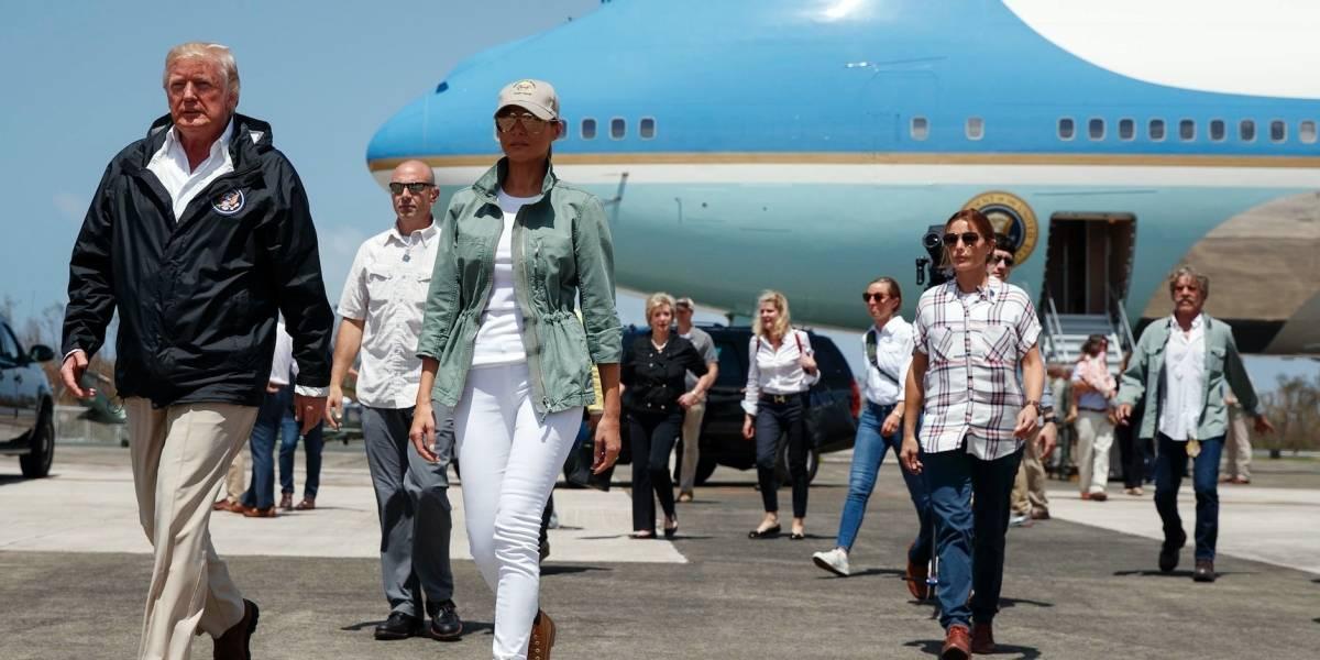 Melania Trump exhorta a las personas ayudar a la Isla