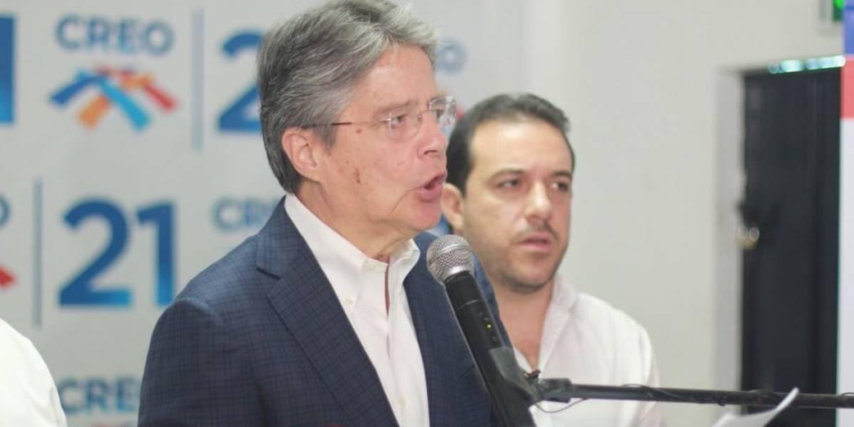 Guillermo Lasso: La Fiscalía también debe llamar al Presidente Lenín Moreno