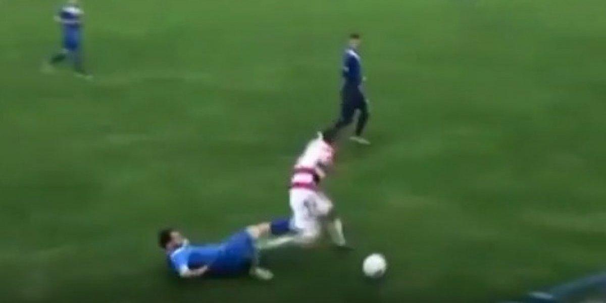 Futbolista pierde testículo tras recibir una patada