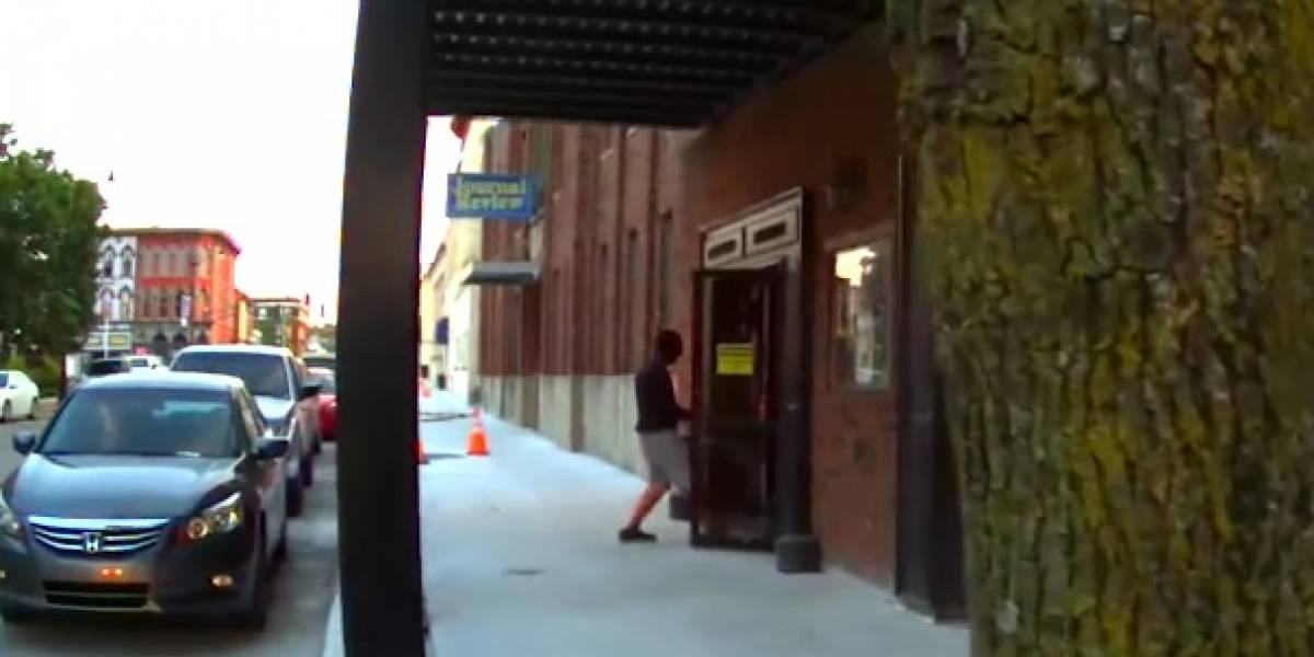 Le disparan a actor que interpretaba a un ladrón