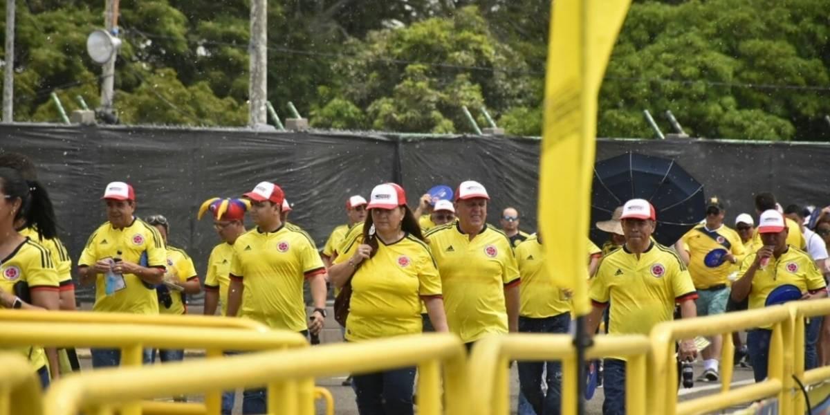 Establecen medidas de seguridad para el partido Colombia Vs Paraguay en Barranquilla