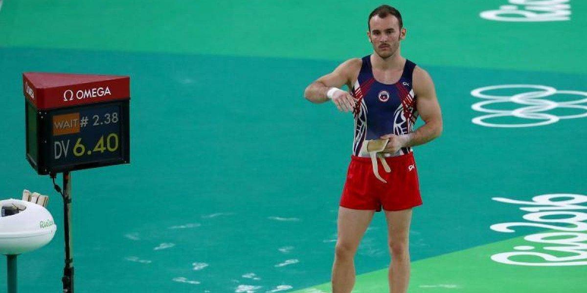 Tomás González quedó fuera del Mundial de Gimnasia