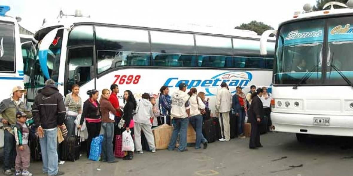 ¿Cuánto aumentarán los pasajes de buses para la temporada de fin de año?