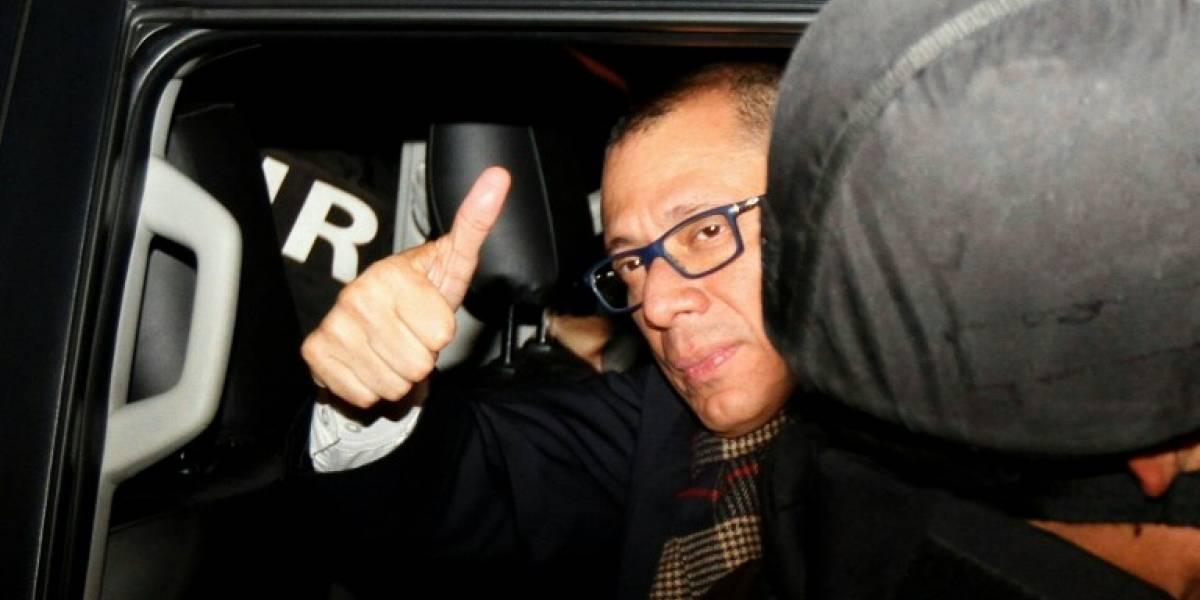 Vicepresidente de Ecuador, en prisión preventiva por caso Odebrecht