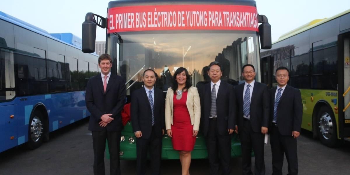 Yutong traerá su primer bus eléctrico al Transantiago