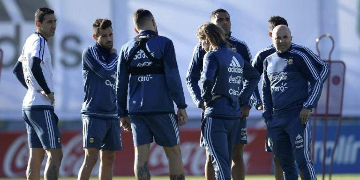 La sorpresiva formación de Jorge Sampaoli para el crucial partido ante Perú