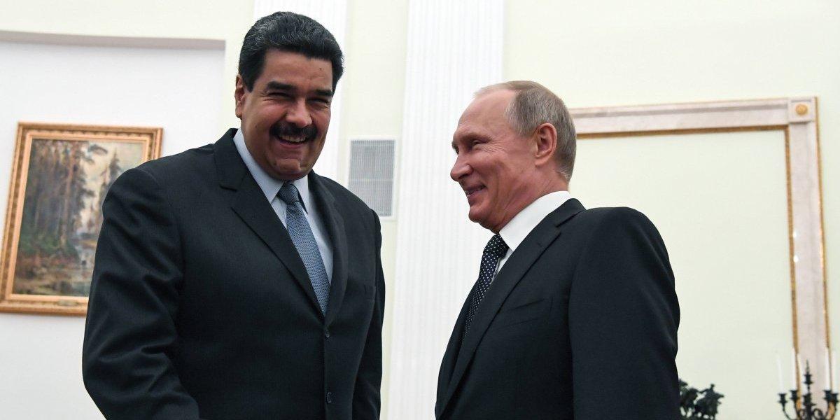 """Maduro agradece a Putin el apoyo que Rusia le ha entregado en """"momentos difíciles"""""""