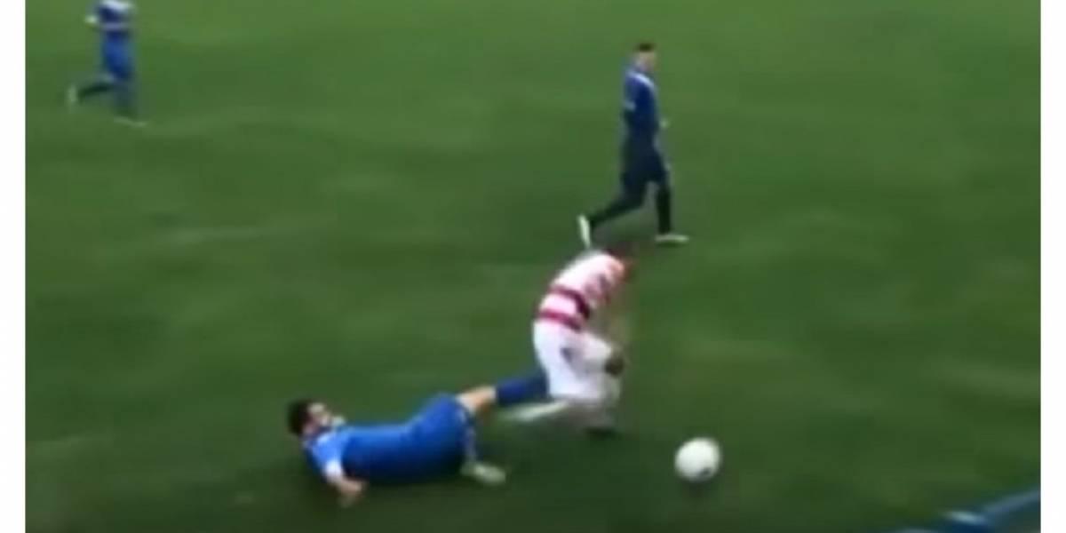 Marin Galic  pierde testículo tras ser golpeado en un partido