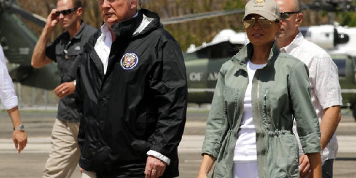 Pueden decirle adiós a su deuda multimillonaria, Trump en Puerto Rico