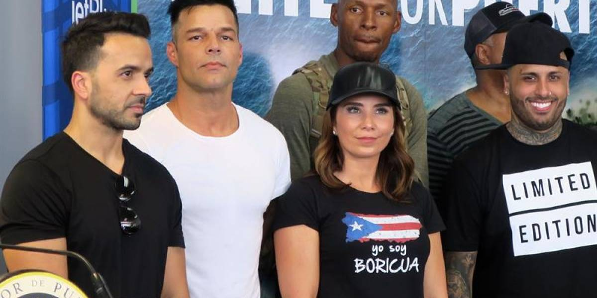 Ricky Martin regresa a la isla con más ayuda