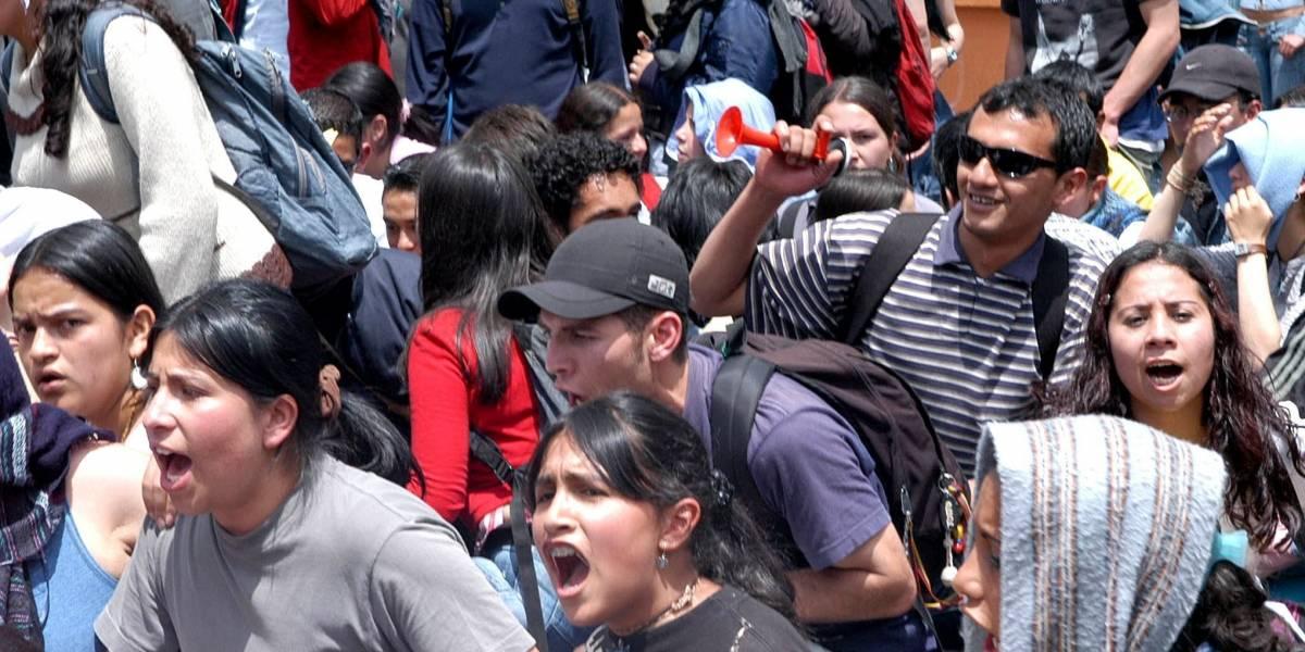 Siga todos los detalles de la marcha en defensa de la educación en Bogotá