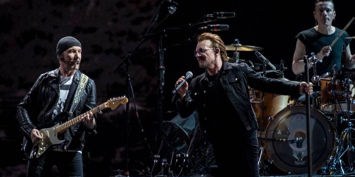 Llega U2 a inyectar de fuerza a Mexico