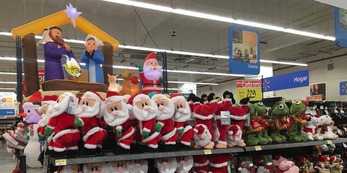 Comercios guatemaltecos empiezan a respirar la Navidad