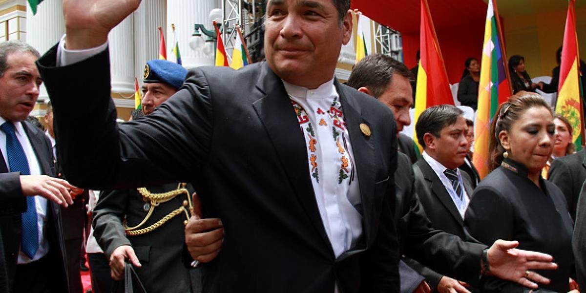 Rafael Correa: Lenín Moreno me engañó diez años
