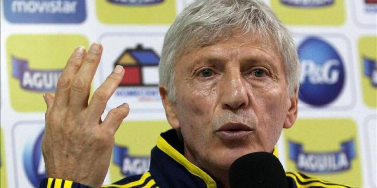 Colombia se queda sin DT por fin del contrato de Pekerman