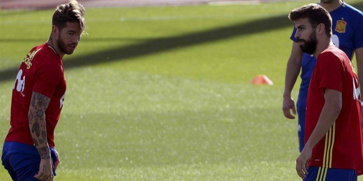 """Piqué y Ramos no son enemigos: catalán y español montarán un """"negocio"""" juntos"""