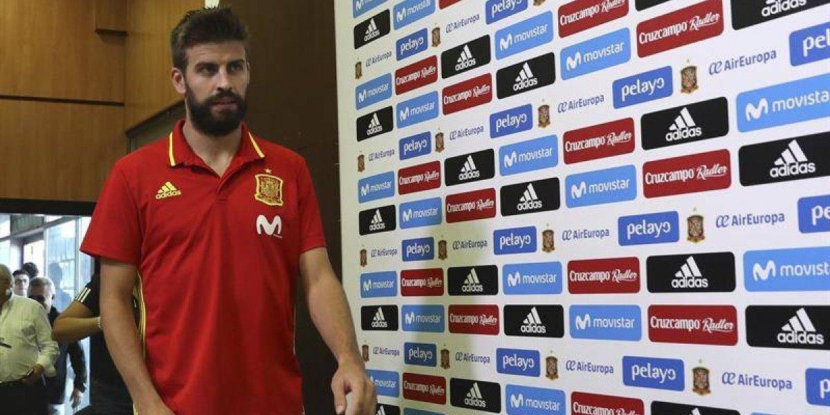 """El """"orgulloso"""" Piqué no cede: """"¿Por qué un independentista no podría jugar con la selección española?"""""""