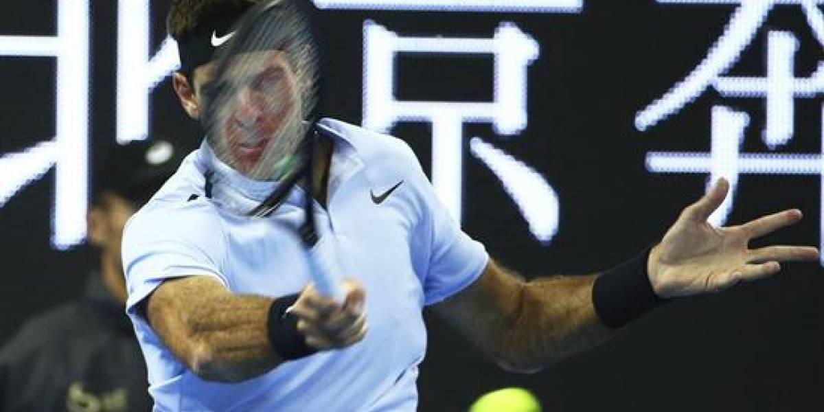 Del Potro y Sharapova caen en Pekín, Dimitrov y Bautista se citan en cuartos