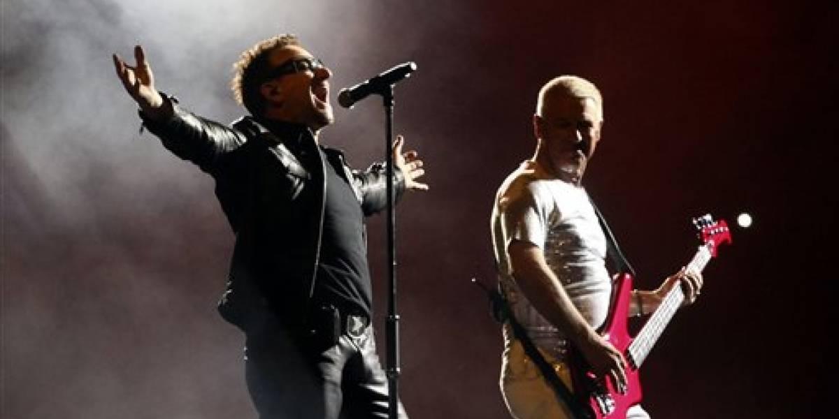 U2 dona parte de sus conciertos en México para refugios