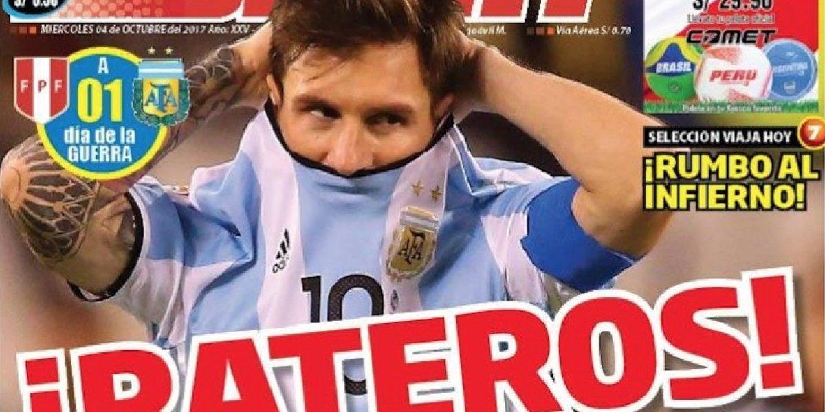Acusan a Argentina de haber arreglado el partido ante Perú