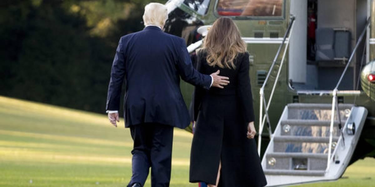 Trump parte hacia Las Vegas
