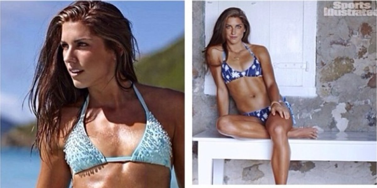 Alex Morgan fue expulsada de Disney por 'conducta agresiva'