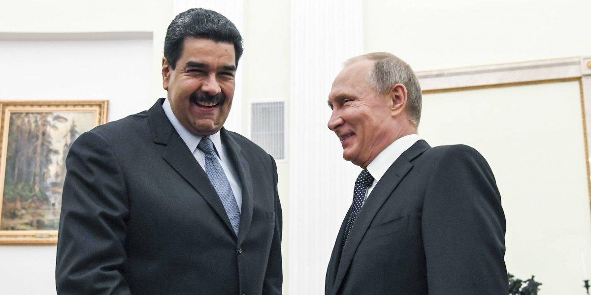Maduro se reúne con Putin y agradece el apoyo 'en momentos difíciles'