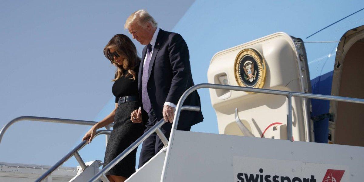 Trump llega a Las Vegas para apoyar a las víctimas del tiroteo