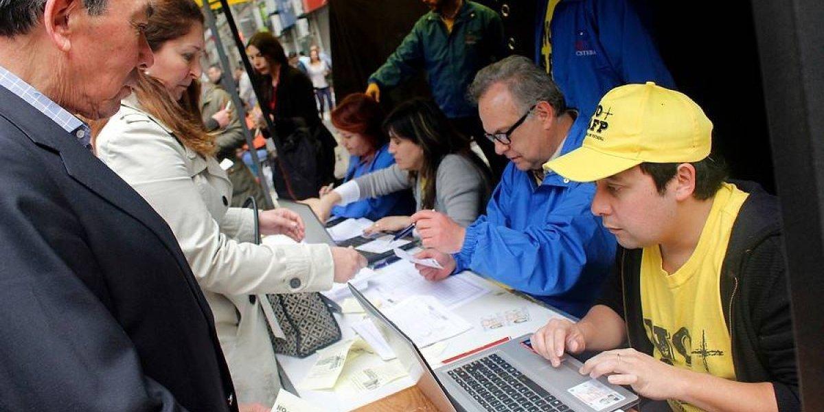 """Coordinadora """"No Más AFP"""" asegura haber superado la votación de Piñera en primarias presidenciales"""