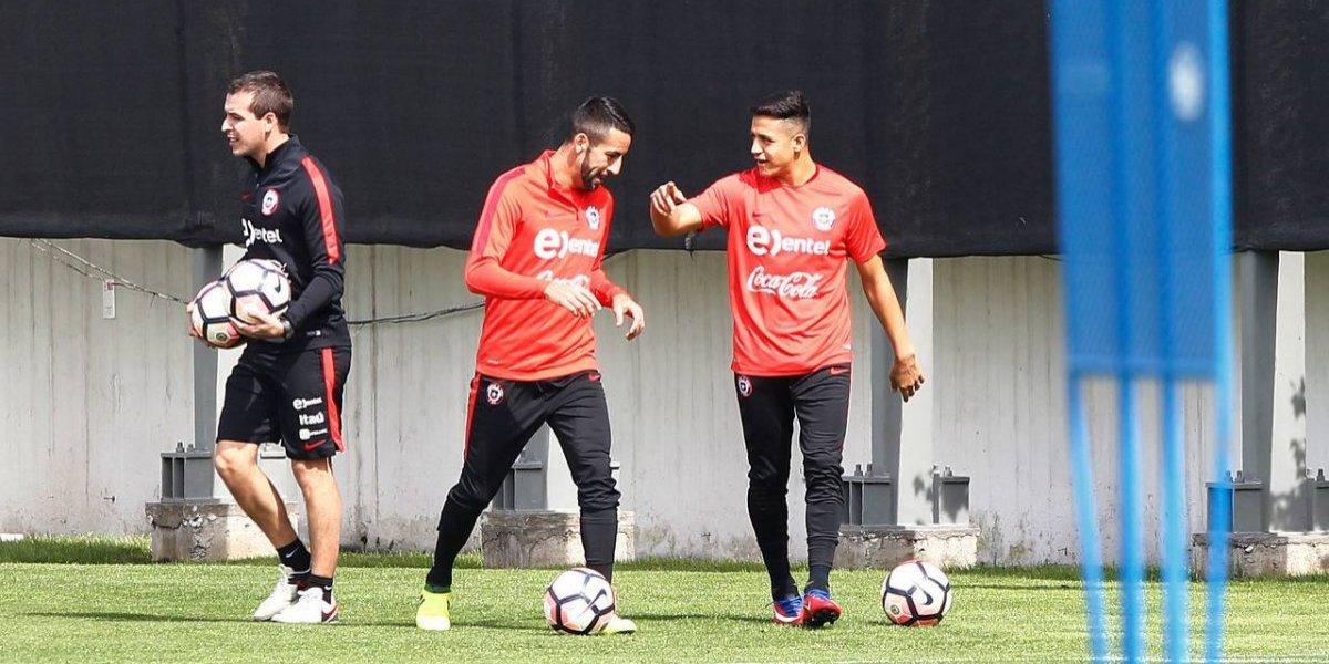 La Roja tuvo su última práctica en el Monumental y Pizzi confirmó la formación ante Ecuador