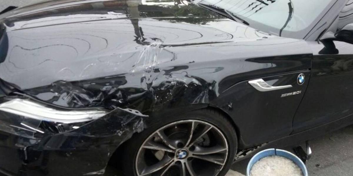 Lateral do Botafogo sofre acidente automobilístico a caminho do treino