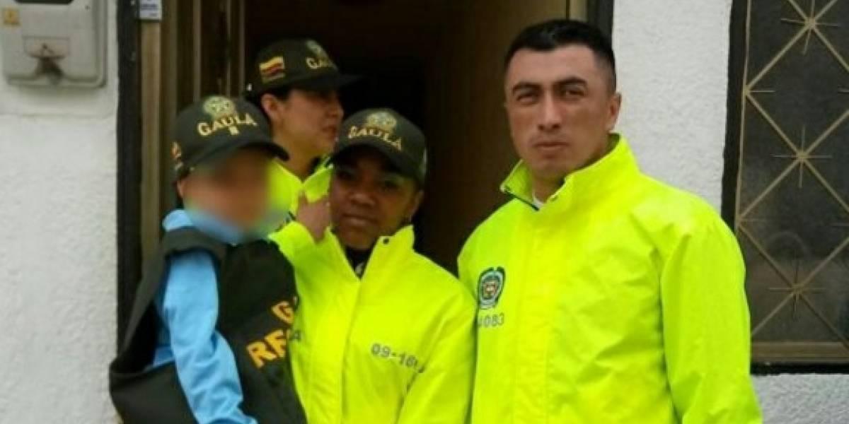 Policía rescató en Bogotá a menor de edad secuestrado en Acacías, Meta