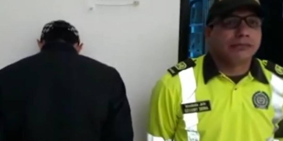Capturan a hombre que atropelló a mujer en Cajicá